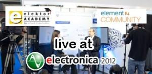 Meet Elektor at Electronica 2012