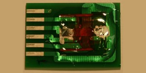 A 'Dirt Cheap' Magnetic Field Sensor from 'Plastic Paint'