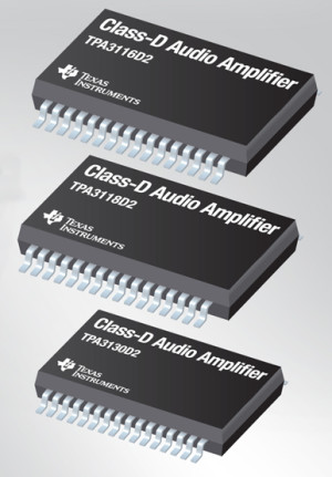 Class-D Audio Amplifiers with Wide Supply Range and High Switching Rates