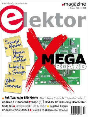 Elektor October 2013 Edition Published