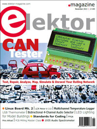 Elektor November 2013 Edition on Sale Now