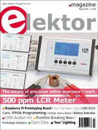 Elektor March 2013 Edition On Sale Now