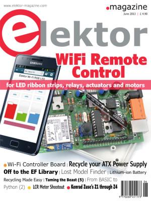 Elektor June 2013 Edition Published