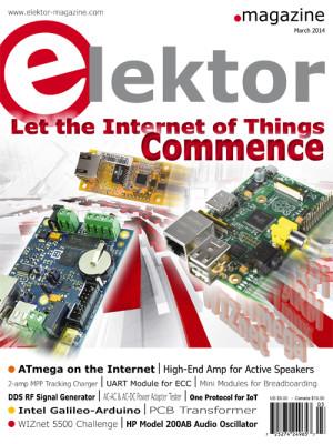 Elektor Magazine March Edition Now on Sale