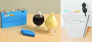 Nano paste extends lithium battery lifetime. Image: ITRI