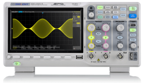 The SDS1000X-E employs a 256-level intensity grading display function and a colour temperature display mode not found in other models in this class. Image: Siglent