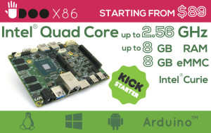 UDOO X86: 10 times faster than RPi 3