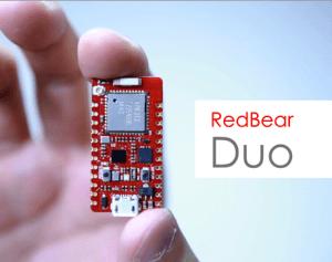 The RedBear Duo IoT Dev board