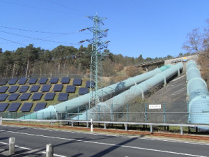 Pumped-storage hydroelectricity. Geesthacht, Germany