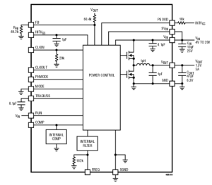Complete 5A step-down Regulator