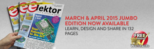 Out and about: Elektor magazine edition 2/2015 for March & April released in print and pdf