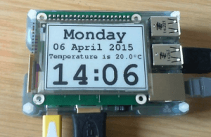 Neat E-ink HAT for RPi