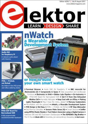 Edition 4/2017 of Elektor is now available!