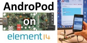 "Jetzt anmelden: GRATIS-Webinar ""AndroPod - Bridging Android and your electronics projects"