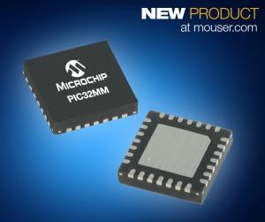 Die energiesparendste und kostengünstigste 32-Bit-PIC32-Mikrocontroller-Familie von Microchip Technology