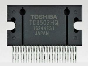 Quad-Audio-Verstärker fürs Auto von Toshiba