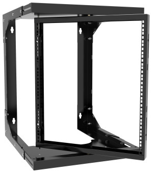Hammond Manufacturing Launches New Adjustable Depth Pivoting Wall Mount Rack