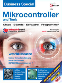 """Business Special """"Mikrocontroller & Tools"""" (2015)"""