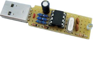 Projekt-Nr. 10: USB-Stick als Tastatur