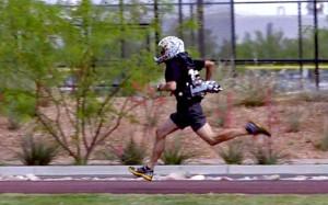 Courir comme une fusée