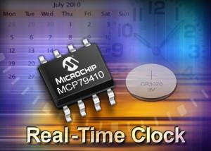Mettez-vous à l'heure, avec Microchip