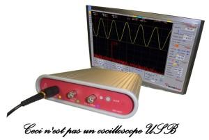 Ceci n'est pas un oscilloscope USB...