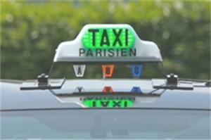 Les taxis virent du rouge au vert