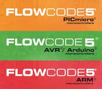 19% de remise sur Flowcode 5 pour PIC, AVR ou ARM
