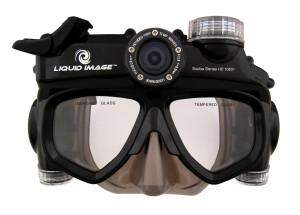 Masque de plongée pour filmer en HD