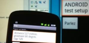 Surveillance de modèles aériens avec Android