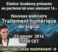 Webinaire gratuit : Traitement numérique du signal