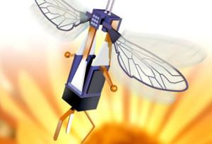 Robots-abeilles : pollinisateurs pour cultures polluées ?