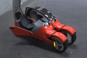 Lane Splitter Concept Car