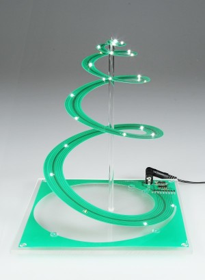 Projet n°48 : Noël au sapin spiral et au pas logarithmique