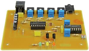 Project No. 50: indicateur audio à témoins LED tricolores
