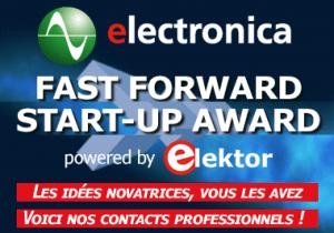 Innovez avec l'electronica Fast Forward Award powered by Elektor