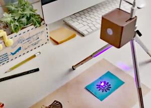 Cubiio : graveur laser portatif