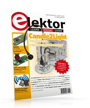 Het nieuwe Elektor magazine september/oktober 2017 nu verkrijgbaar
