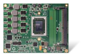 Compared to modules based on the previous generation of AMD Embedded G-Series SoCs, the new conga-TR3 with dual-core AMD GX-217GI processor provides up to 30% more graphics performance and 15% more overall system performance.