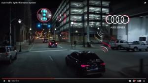 Audi praat met verkeerslichten