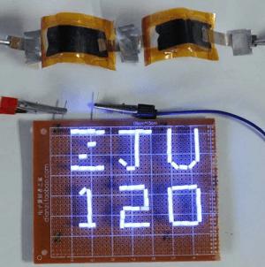 AIB's voeden enkele LED's. Afbeelding: Universiteit van Zhejiang