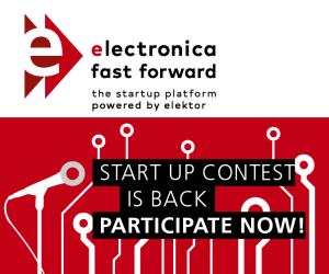 electronica Fast Forward 2018: het Startup Platform Powered by Elektor