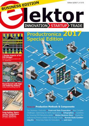 Elektor Business Magazine 6/2017: exclusieve download voor onze leden