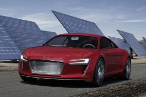 Audi Starts Production Electrical Sports Car