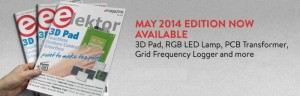 May 2014 Edition of Elektor Magazine Now Available
