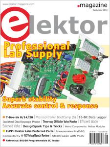A edição de Setembro da Revista Elektor Já Está Disponível