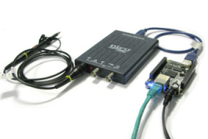 Pico USB scope for ARM systems