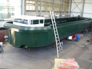 Electric Cargo Boat Supplies Amsterdam