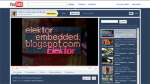 Elektor on the world's largest TV network
