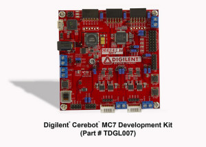 Embedded motor control Cerebot MC7 Development Kit for academia and hobbyists